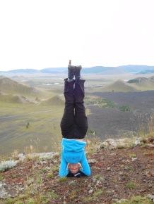 Tiki dans les volcans en Mongolie