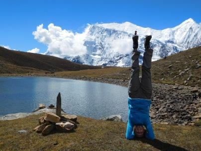 Tiki à l'Ice Lake au Népal