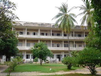 Bâtiment principal de l'ancien collège transformé en prison