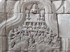 La défaite de Mara, Angkor et toujours