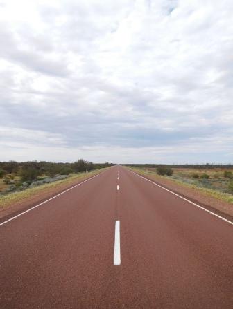 200 km de ligne droite, si si, c'est possible!