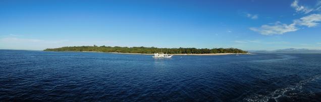 Vue de l'île