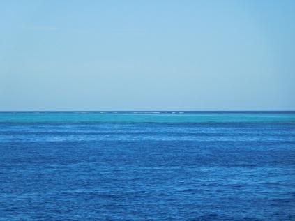 Arrivée sur l'atoll