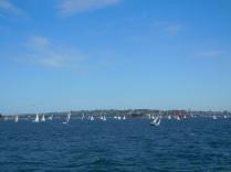 Les voiliers dans la baie de Sydney