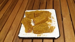 Buchettes panées avant cuisson