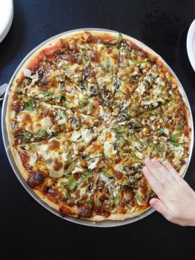 Une pizza XXL