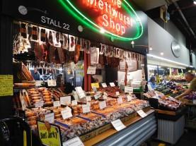 Le marché central, et la mettwurst qui ressemblerait vaguement à du saucisson?