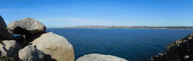 Vue sur la baie où accosta le Capitaine Fraser
