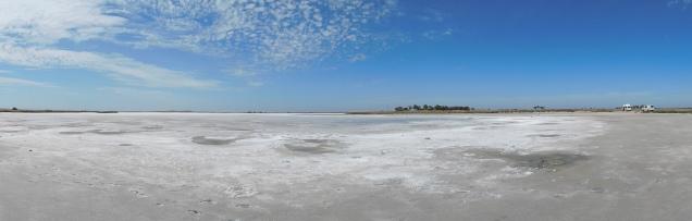 Lac salé sur la Limestone Coast