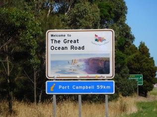 Arrivée sur la mythique Great Ocean Road