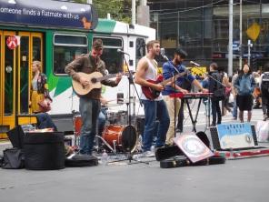 Bourke Street et son ambiance animée
