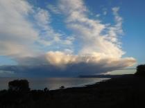 Un petit orage sur Friendly beach?