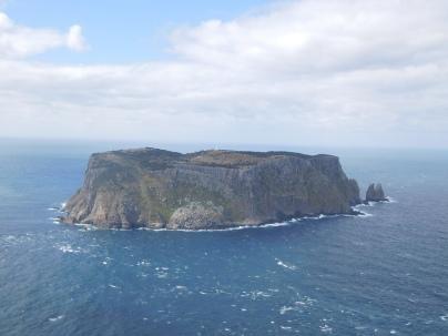 L'île du phare du cap Pillar