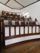 Box de la chapelle de la prison