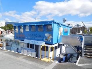 Le concept produits de la mer à emporter