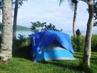 Camping de Touho, vue mer