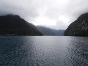 Vue depuis la sortie du Fjord
