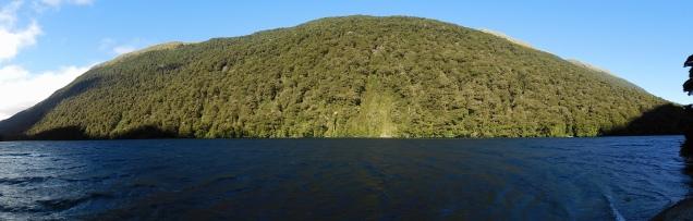 Route vers Te Anau