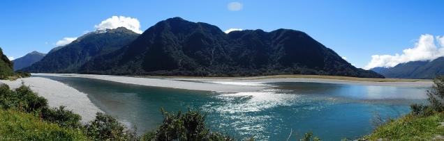 Route de Wanaka aux glaciers