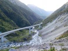 Route vers Arthur's pass
