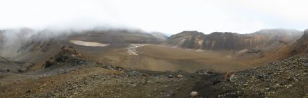 Levée de rideau sur le cratère sud