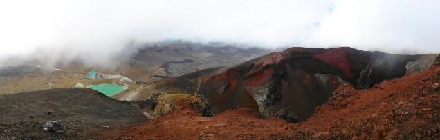 Le cratère rouge : un moment magique