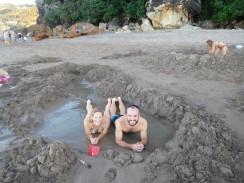 Notre piscine face à l'océan à 20°C