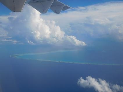 Atoll vu de haut
