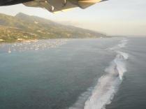 La barrière de corail à Tahiti
