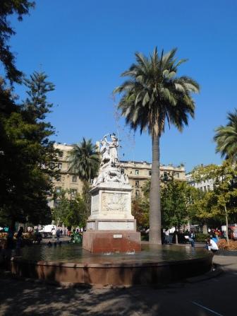 La fontaine du libertador