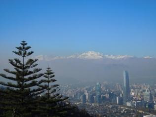 Vue sur la Cordillera