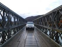 Pont semi moderne semi ancien