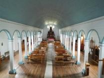 Intérieur de l'Iglesia de Tenaun