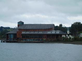 Théâtre et salle de concert sur l'eau