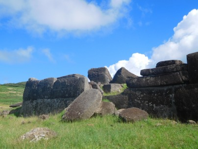 Ahu de style Inca
