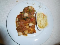 Saumon sauce arabiatta