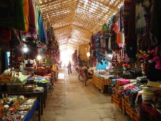 Marché artisanal de San Pedro