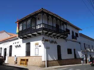 Balcons typiques de Bolivie