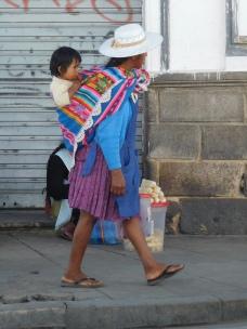 Porte bébé Bolivien