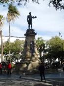 Statue honorifique du libérateur