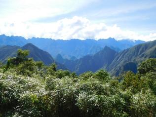 Panoramique sur le Machupicchu