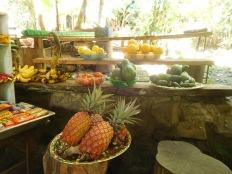 La profusion de fruits exotiques