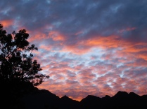 Lever de soleil au Machu Picchu