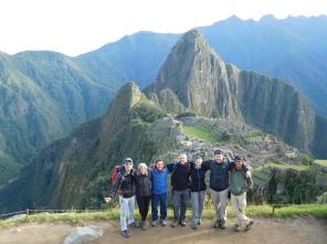 La sticky family au Machu Picchu