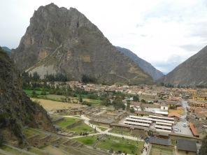 La montagne avec les formes sacrées