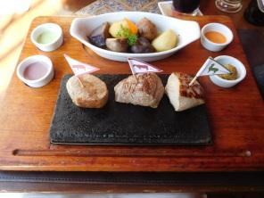 Trio de viande sur plaque chauffante au ZigZag