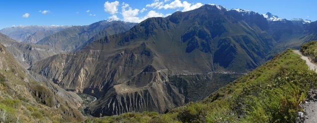 Impressionant canyon de Colca
