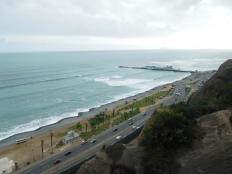Miraflores surplombe l'océan